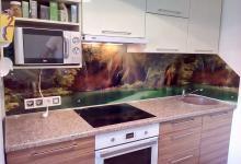 фотопечать кухонный фартук